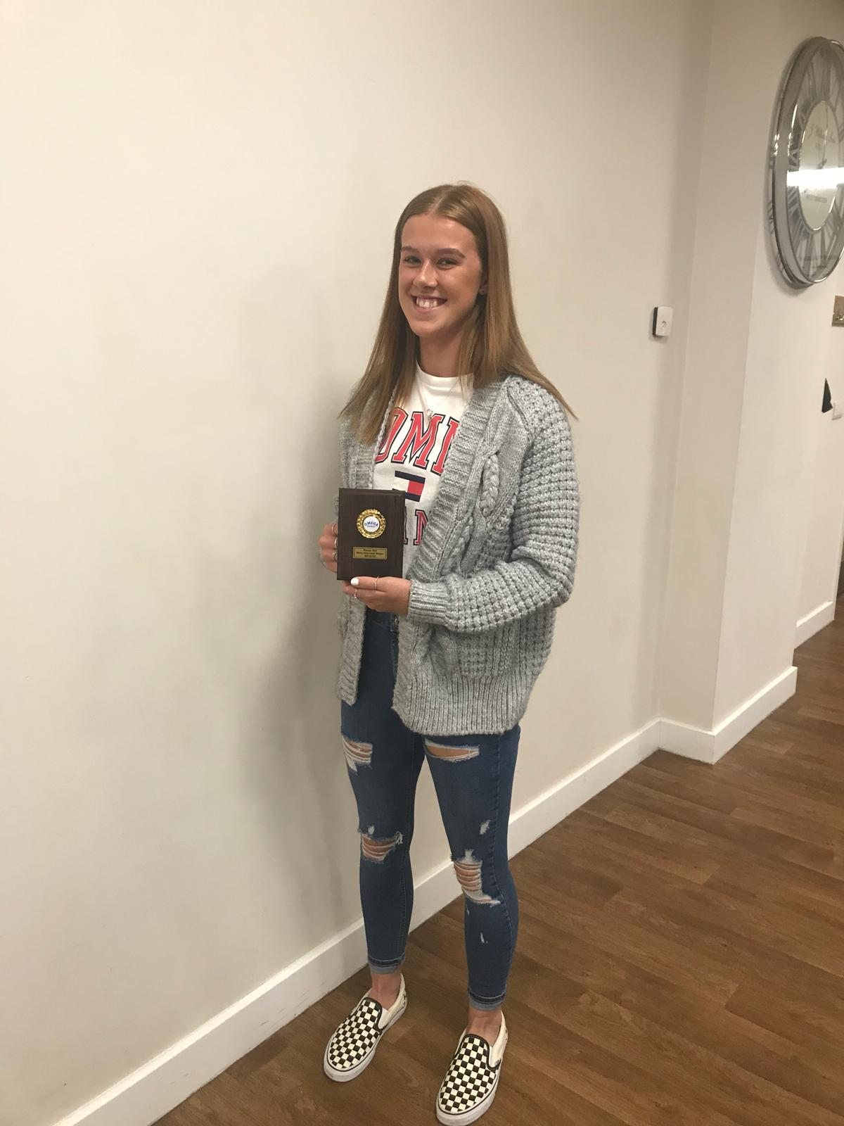 Most Improved Player B Team - Ruby Brett