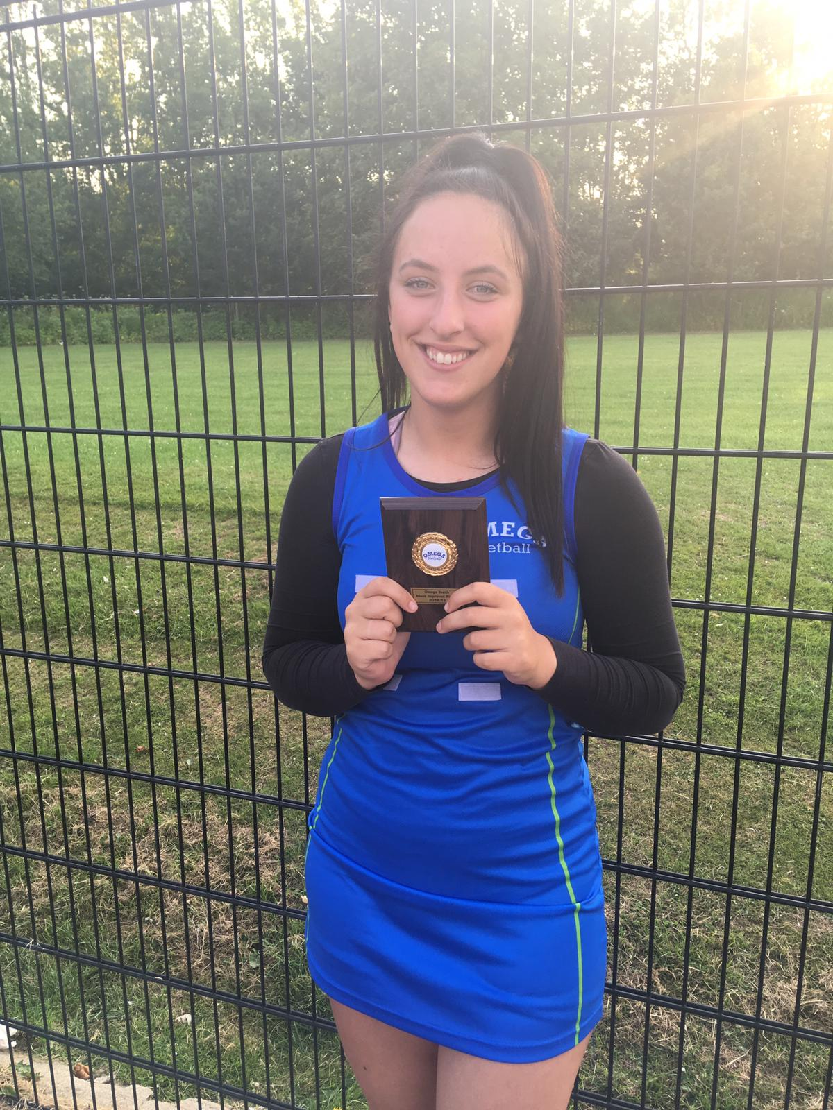 Jodie Woods - Most Improved Player